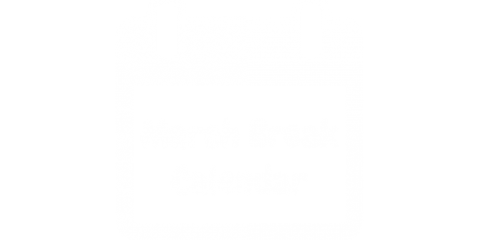 March Break Calendar
